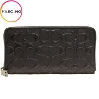 COACH [ サイフ ] 財布 上品なレザーに高級感のあるデザインが魅力の長財布です。定番のシグネ...