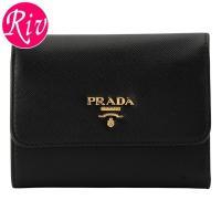 PRADA   サイフ   財布 セレブに絶大な人気のプラダ!スリムなフォルムでバッグの中やポケット...