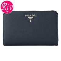 PRADA   サイフ   財布  セレブに人気のプラダ!人気の定番デザインに、上質なレザー素材を使...