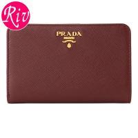 PRADA   サイフ   財布 セレブに人気のプラダ!人気の定番デザインに、上質なレザー素材を使用...