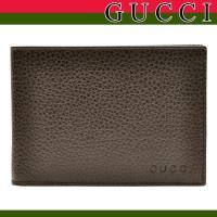 グッチのメンズ折財布が入荷。シンプルなデザインのお財布はカード収納もあり、機能的な財布。使いやすい二...