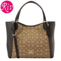 COACH   カバン   鞄 上品なレザーの質感が高級感を演出してくれる2wayトートバッグです。...