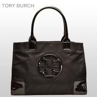 トリーバーチ TORY BURCH バッグ トートバッグ ブラック ナイロン×パテントレザー 50009813-009