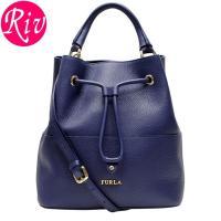 FURLA   カバン   鞄 上品な筒型バッグはスタイルを綺麗に見せてくれる優れもの。レザー紐で締...