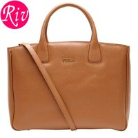FURLAカバン フルラ 鞄 上質なレザーを贅沢に使用したエレガントなスタイルのA4サイズ対応ハンド...