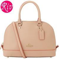 COACH   カバン   鞄 上品な印象のドーム型デザインは丸みがあり、女性らしさもプラス。フォー...