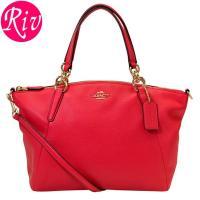 COACH   カバン   鞄 シンプルなデザインながらも、ハンドルの金具デザインに高級感のあるチェ...