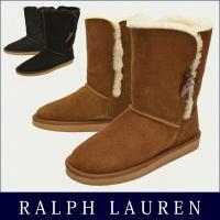 Polo Ralph Lauren/ポロ・ラルフローレン レディース ムートンブーツ ポロ・ラルフロ...