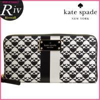 多くの女性から支持されているケイトスペード!ラウンドファスナー財布が入荷!デザインだけでなく、使いや...