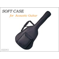 アコースティックギター用ケースです。 1,000円前後のものはペラペラがほとんどですが、このケースは...