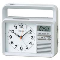 商品説明 ●メーカー:SEIKO CLOCK セイコークロック  ●種類:ラジオ付き防災クロック ●...