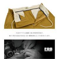 【10%OFFクーポン対象】FOB FACTORY(FOBファクトリー)F0415 セイラークロス イージーパンツ/SAILOR CLOTH EASY PANTS / 日本製