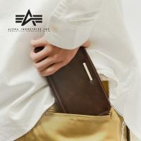 土日祝日も営業  15:00 までのご注文は 即日発送  ALPHA Fake Leather Zi...