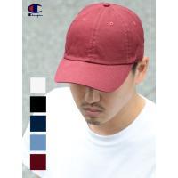 チャンピオン CHAMPION キャップ CAP ロゴ 刺繍 Cロゴ 6パネル 無地 メンズ レディース ユニセックス 帽子 コットンキャップ ベースボールキャップ C4001