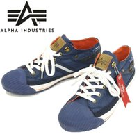 アルファインダストリーズ スニーカー ALPHA 靴 ミリタリーローカット AF-501VL ナイロ...