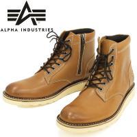 アルファインダストリーズ ブーツ ALPHA ナローブーツ ミリタリーレザーブーツ AFM-1944...