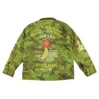 テーラー東洋 ベトジャン TT13675 TAILOR TOYO ベトナムジャケット VIETNAM MAP 迷彩カモフラージュ 新品