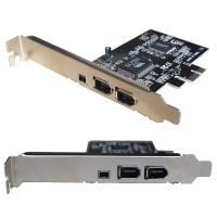 6pinx2ポート 4pinx1 ポート VIA製VT6306チップ搭載  PCI-Express ...