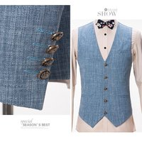 スリーピーススーツ メンズ 結婚式 スリム ビジネス 紳士服 成人式 フォーマル スリーピース 3ピース スーツ 事務 セットアップ