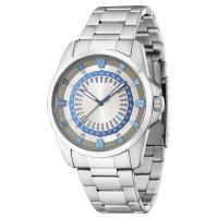 """シンプルで大きめのメタルバンド時計です☆  """"POLICE""""(ポリス)は、イタリアの高級アイウェアメ..."""