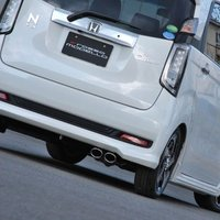 N-WGN カスタムマフラー ロッソモデロのマフラーは車検対応です。  <製品適合詳細>  ■HON...