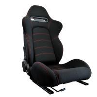 汎用のセミバケットシートです。布製!  リクライニングレバーは右側にあります。  お車に使用する場合...