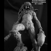 Death Warrior キット【取り寄せ商品】 NARIN STUDIO 1/6scale Na...