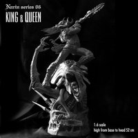 NARIN Series 06【取り寄せ商品】 KING & QUEEN キット 1/6sc...