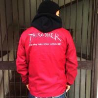 THRASHER/コーチジャケット/SKATE/ナイロンジャケット