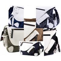 ◆男女兼用のユニセックスタイプ、帆布製の目立つデザインのメッセンジャーバッグです。 ◆強度・耐久性が...