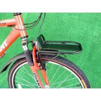 マウンテンバイク、クロスバイクのフロントに取り付け可能です。サスペンション付車にも対応  軽量・頑丈...