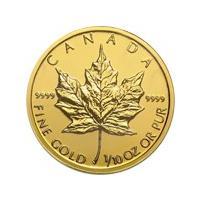 メイプルリーフ金貨は、カナダ王室造幣局が1979年から現在まで発行している金の純度約100%の純金製...