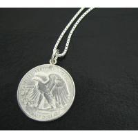 通称ウォーキング・リバティー銀貨と呼ばれる銀品位90%のアメリカの50CENT通貨(ハーフダラー)を...