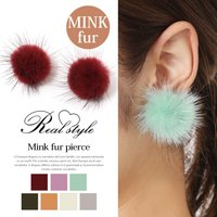 ●ミンクファー  程良いボリューム感でふわふわのミンクファーが耳元を大人可愛く演出してくれます。  ...