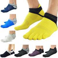 ランニング 5本指ソックス 通気性 メッシュ 靴ズレ予防 靴下  速乾性に優れたランニングソックス。...
