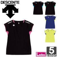 半袖Tシャツ デサント DESCENTE レディース SCONDARY SHIRT DVB-5223W 吸汗 速乾|runningclub-gh