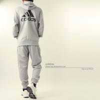 セットアップ アディダス adidas メンズ エッセンシャル ライトスウェット 上下セット FAO87 FAO96 1908 パーカー ジャージ 2019年秋冬|runningclub-gh|05