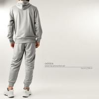 セットアップ アディダス adidas メンズ ESS ライトスウェット 上下セット FAO98 FAO96 1908 パーカー ジャージ 2019年秋冬|runningclub-gh|05