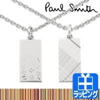 Paul Smith ポールスミス ミュージカルノート&チェック ネックレス  メンズ&ウィメンズの...