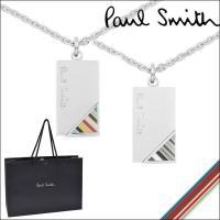 Paul Smith ポールスミス ネックレス  ■商品詳細 Paul Smithロゴの入ったプレー...