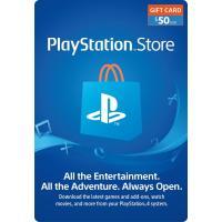 (コード通知) 北米版 プレイステーション PSNカード $50ドル