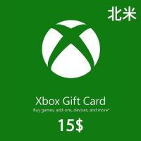 (コード通知) 北米版 XBOXギフトカード $15ドル