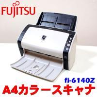 中古現状 PC周辺機器 Fujitsu ADFスタンダードモデル 富士通 A4 カラースキャナ fi...