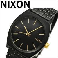 【商品名】NIXON/ニクソン タイムテラー 【品番】A0451041 【文字盤色】ブラック×ゴール...