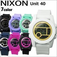 【商品名】NIXON Unit 40(ユニット40) 【品番&カラー】 A4901035:ホワイト ...