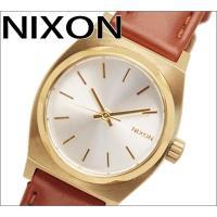 【商品名 】【NIXON】THE SMALL TIME TELLER LEATHER(スモールタイム...