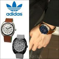 【商品名】アディダス/Adidas  ■ADH3005(シルバー×ブラウン) ・ベルト素材 レザー(...