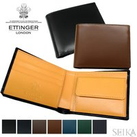 (1) ETTINGER エッティンガー 二つ折り財布 小銭入れ付BH141JR 全6色(CPT)