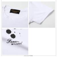 Forward Milano フォワードミラノ TMW0011 丸首 クルーネック 半袖 Tシャツ プリント カットソー カラーwhite メンズ