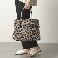 SAVE MY BAG セーブマイバッグ 20204N MISS PLUS LYCRA STAMPATA ミス プラス 軽量 トートバッグ 鞄 LEOPARD レディース